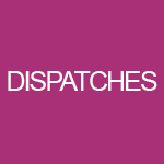 Dispatches Student Blog Logo, Pink