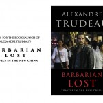 Alexandre Trudeau book launch poster