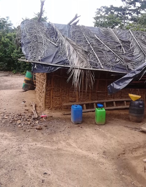 Workers' Hut, Agboville, Côte d'Ivoire.