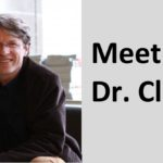 "Header image with portrait photo of Dr. Clark and text reading ""Meet Dr. Clark""."