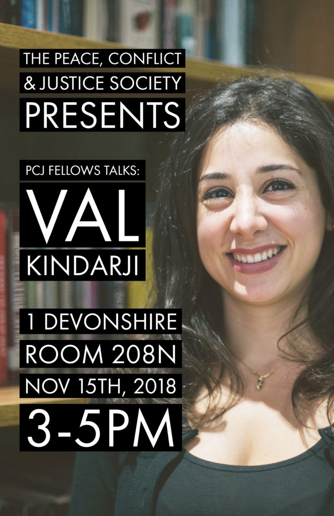 PCJ Fellows Talk - Val | Photo & Poster by Aloysius Wong