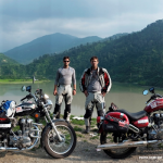 Photo of Ryan and Colin Pyle by Motor Cycles in India