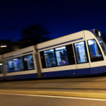 Photo of Light Rail Transit representing Moving Our Region report