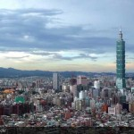 Photo of Taipei, Taiwan from the air. Photo by tylerdurden1 on Flickr