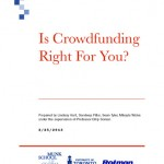 """Cover of India Innovation Institute paper """"Is Crowdfunding Right for You?"""""""