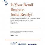 """Cover Page for Report """"Is Your Business India Ready"""""""