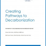 Cover page for Creating Pathways to Decarbonization
