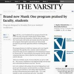 Photo of Varsity Article