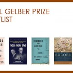 Covers for the 5 books listed on the Lionel Gelber Prize 2014 Shortlist