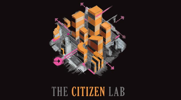 Citizen Lab Title on Black background