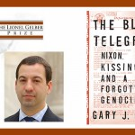 Cover of the Blood Telegram and Headshot of Gary J. Bass