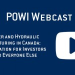 Watch the POWI Webcast on Water and Hydraulic Fracturing