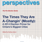 Cover photo of IMFG article, headline reads: The Times They Are a Changing