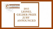 """Lionel Gelber Prize Jury Announced"""