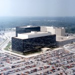 Aerial photo of NSA headquarters in Fort Meade. Courtesy of NSA Website