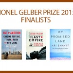 Book covers for the Lionel Gelber Prize 2015 Finalists