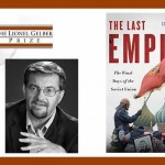 Cover of THE LAST EMPIRE and headshot of Serhii Plokhy