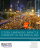 Cover page for Citizen Campaigns Report