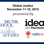 Munk School and CBC logos