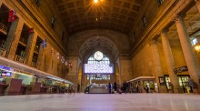 Great hall in Toronto's Union Station