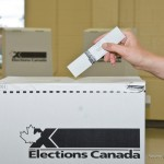 Voting box and ballot