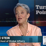 Screenshot of Janice Stein on The National
