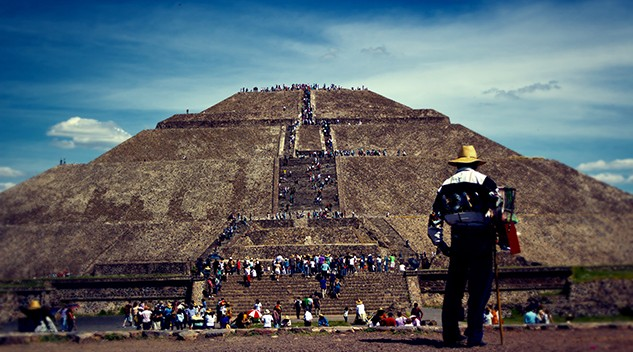 Pyramid of the Sun in the ancient city of Teotihuacan. Photo by Jorge Dalmau