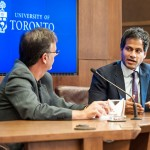 Jameel Jaffer sits on discussion panel with Ron Deibert.
