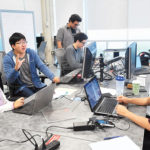 UTSC students and faculty work together on innovative ideas at the Hub, a campus incubator