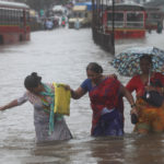 Heavy rains flood streets in India's financial capital Mumbai in August. COP23 will look at extreme weather events caused by climate change like this year's intense monsoon rains in South Asia