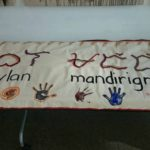 Hand painted banners created by members of Babaylan