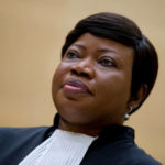 Fatou Bensouda, the chief prosecutor for the International Criminal Court in The Hague