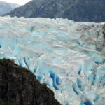 The Herbert Glacier in Alaska, which researchers say has retreated 600 metres since 1984