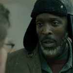 A still of actor Michael K. Williams as Jackson in the Emilio Estevez film, The Public.