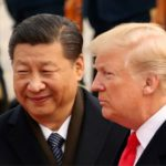 President Donald Trump and Chinese President Xi Jinping at a welcome ceremony at the Great Hall of the People in Beijing