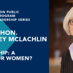 Beverley McLachlin event flyer