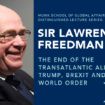 Sir Lawrence Freedman event flyer