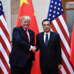 From left to right: Donald Trump, Li Keqiang