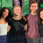 Munk School undergrads pose with political journalist Rosemary Barton from CBC