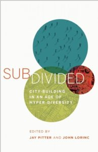 Subdivided book cover