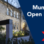 Munk One open house flyer
