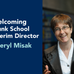 Welcoming Interim Director Cheryl Misak