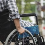 A person sitting in a wheelchair